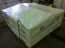 Dust Control Covers Canadian Tarpaulin